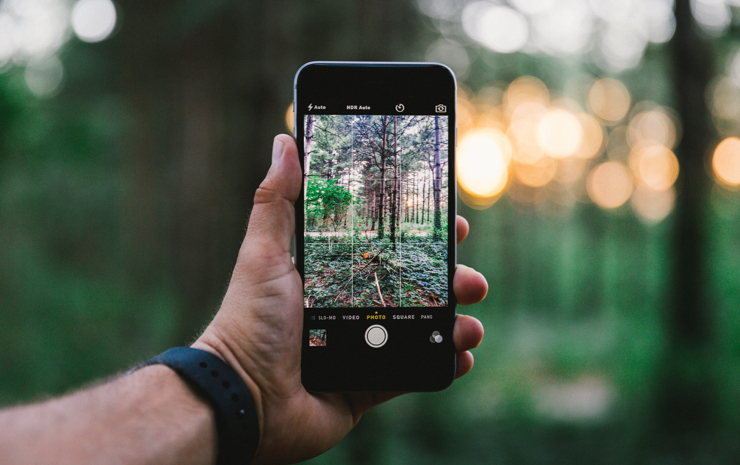 Take pictures of memories to swipe through later